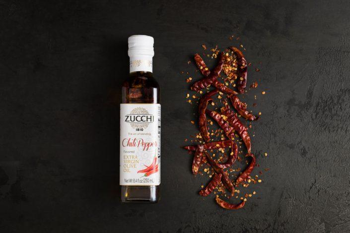 Zucchi 1810 Chili Pepper Flavored Extra Virgin Olive Oil