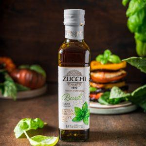 Zucchi Basil Olive Oil